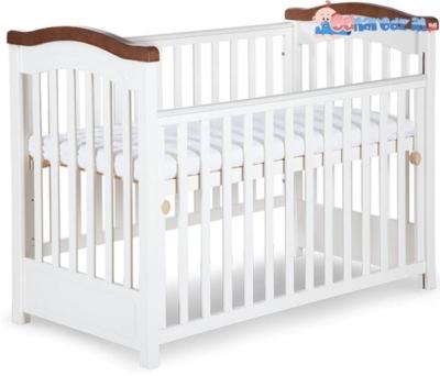 łóżeczko dziecięce z opuszczanym bokiem 120x60 klupś rafał