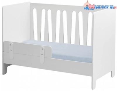 łóżeczko dostawne 120x60 z jednym bokiem